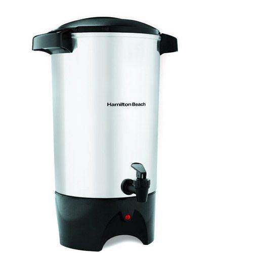 Hamilton Beach 45 Cup Coffee Urn Model 40515r Walmart Com Coffee Urn Camping Coffee Maker Percolator Coffee