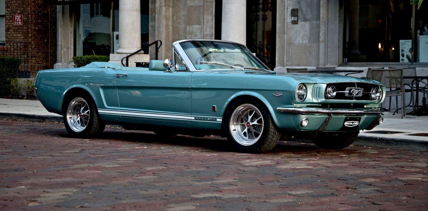 1966 mustang gt convertible revology cars
