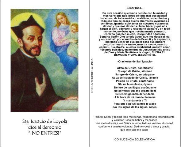 ORACIONES PARA PEDIR PROTECCIÓN, en latín y español ...