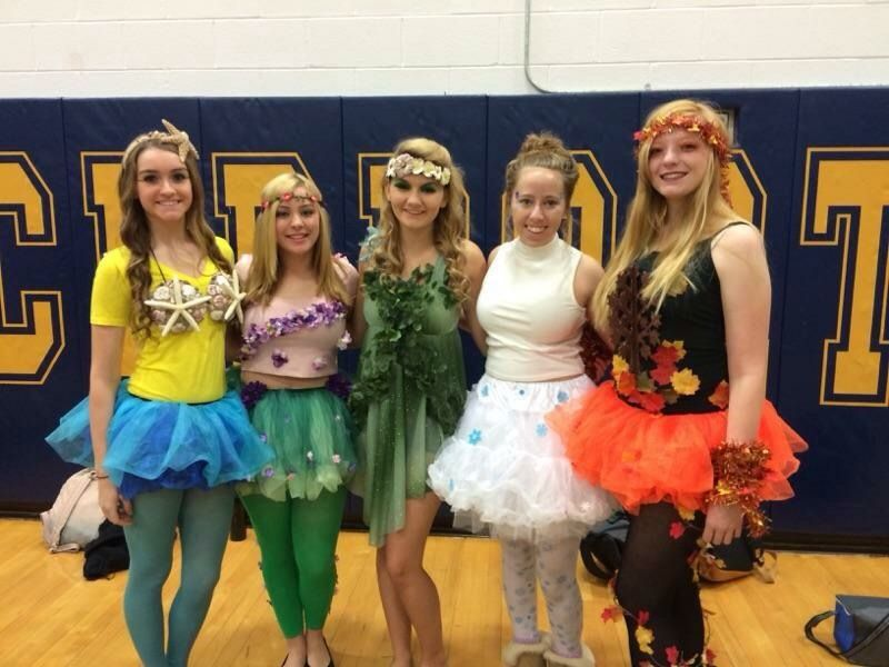 Halloween Group Costume Mother Nature And Her Four Seasons