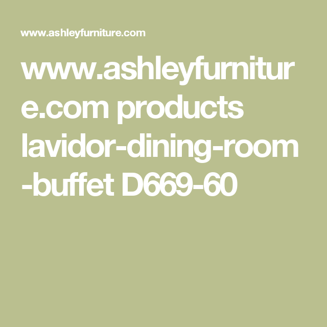 Www.ashleyfurniture.com Products Lavidor-dining-room