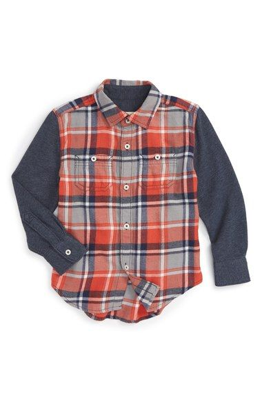 16cfe29c3 Tucker + Tate Woven Plaid Shirt (Toddler Boys & Little Boys) available at  #Nordstrom