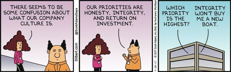 Pin by Ankit Aggarwal on Best of Dilbert | Hr humor, Dilbert ...