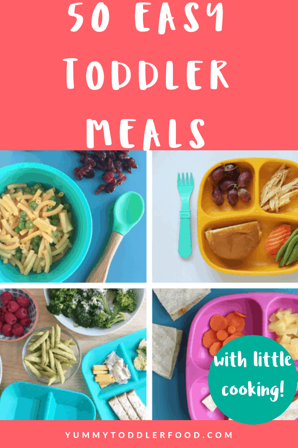 50 Easy Toddler Meals (With Hardly Any Cooking) images