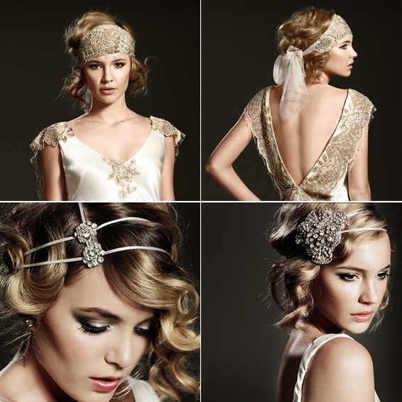 unusual wedding head piece read more on one fab day http