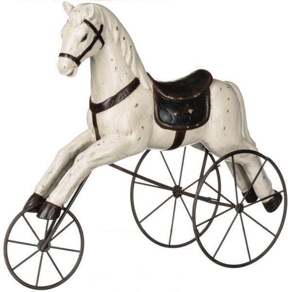 horse on wheels decoration home pinterest cheval de bois bois and cheval bascule