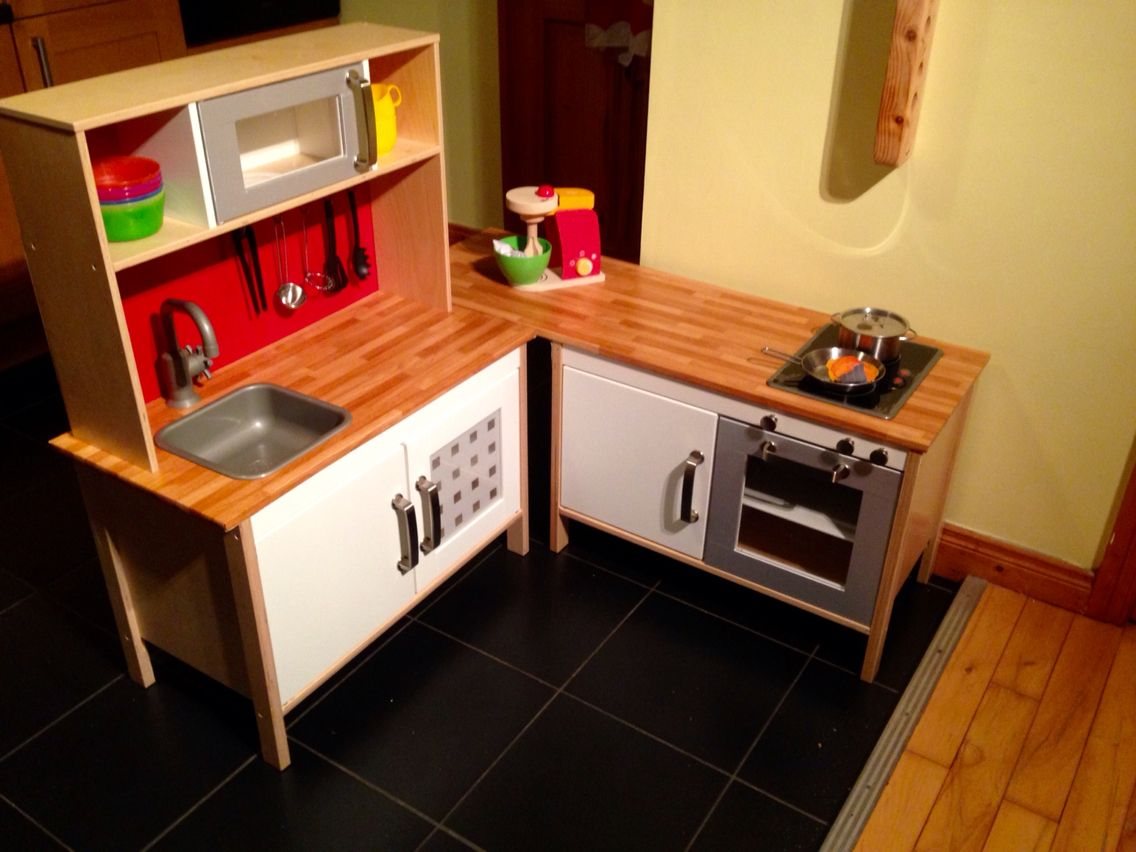 Ikea Hack Kinderküche Ikea Hack Of Duktig Play Kitchen Two Basic Kitchen Units