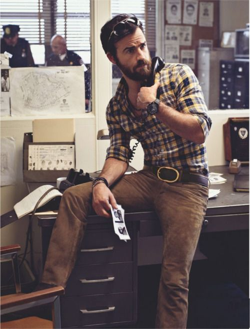 Justin Theroux is Going Rogue: The Return of 70s Swank #beardfashion