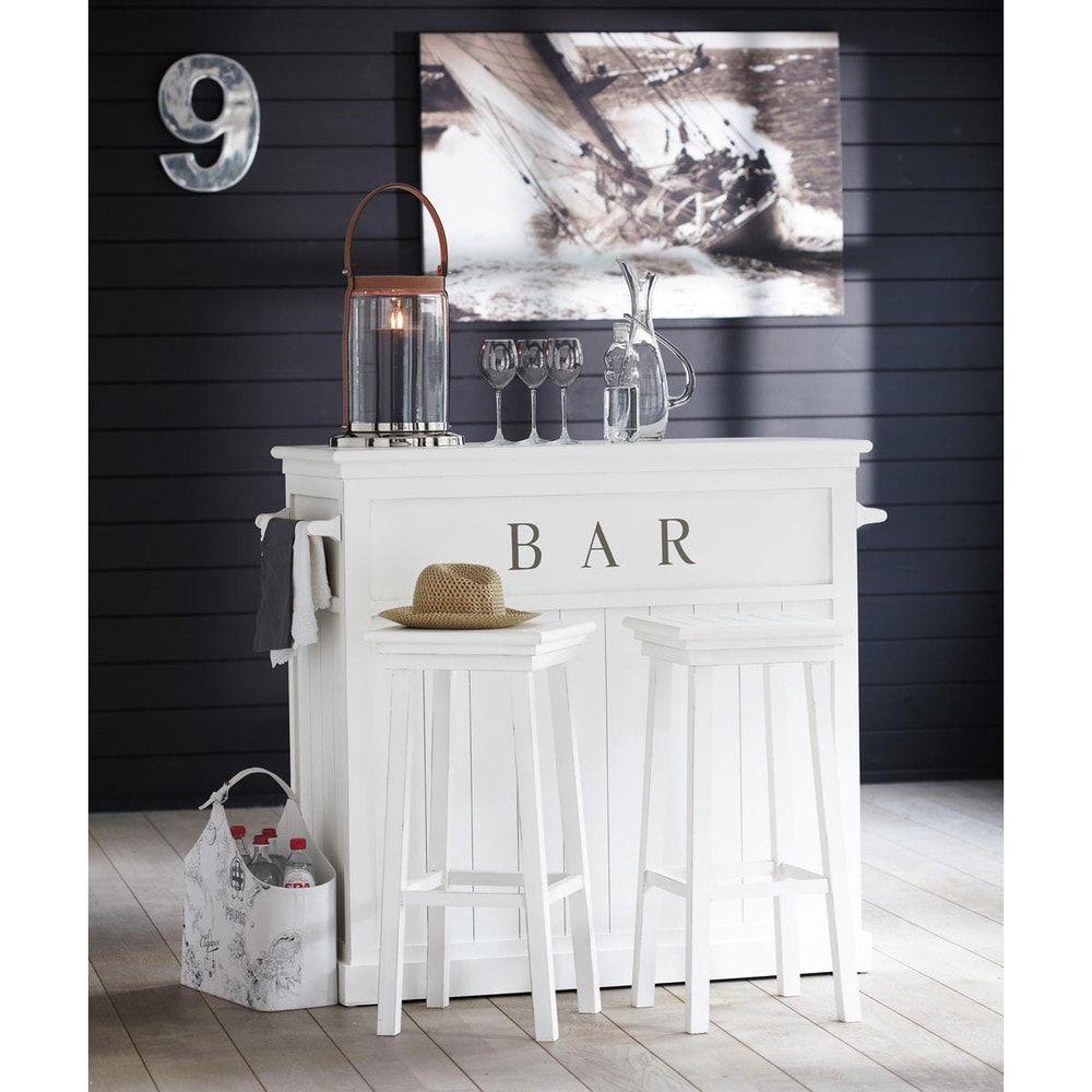 Mobile Bar Shabby Chic.Mobile Bar Bianco In Legno L 120 Cm Home Decor Angolo Bar Bar