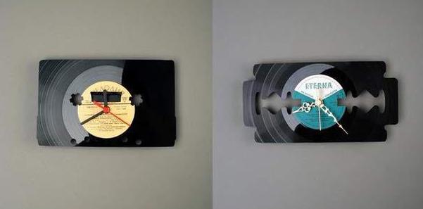 Cuadros con disco de vinilo dise os reciclar pinterest - Manualidades con discos ...