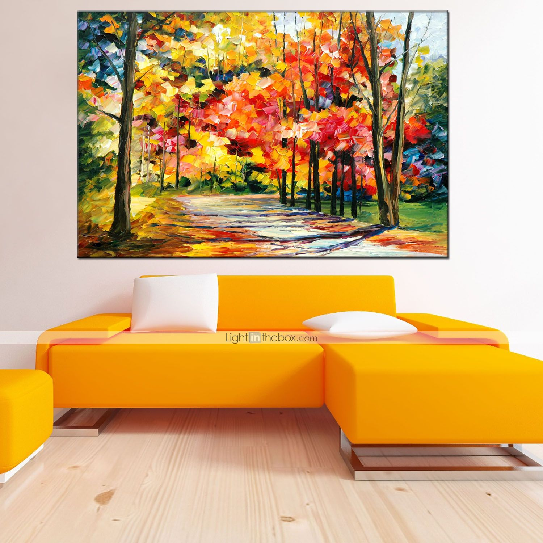 Pintada a mano paisaje horizontal modern estilo europeo for Decoracion y paisaje s a