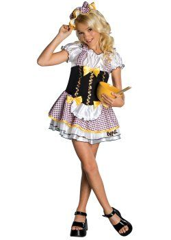 fairytale storybook costumes bratz bratty goldilocks kids costume more details at halloween - Goldilocks Halloween Costumes