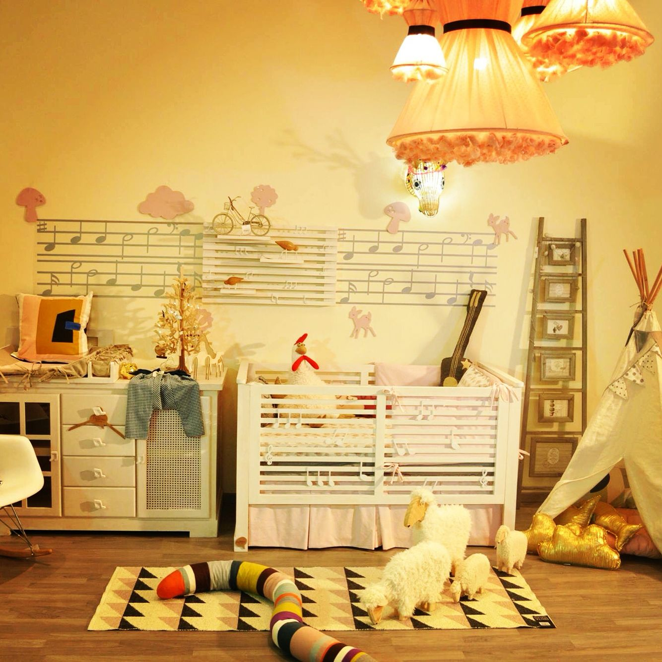 chambre bb fun color art ferm living brita sweden by potiron kid store casablanca - Chambre Bebe Jaune Moutarde
