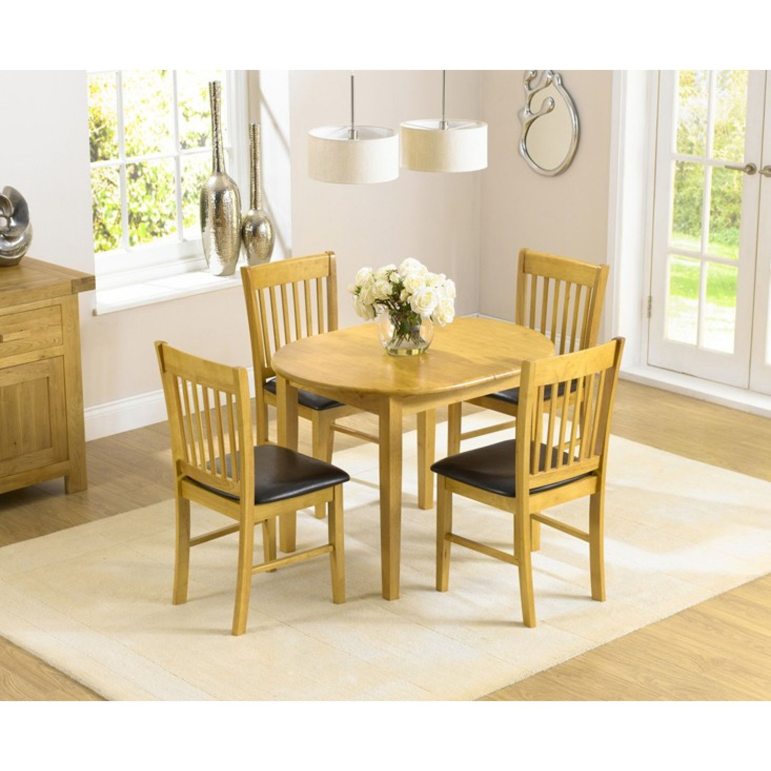 Bonsoni Is Proud To Present This Acton Solid Hardwood Dining