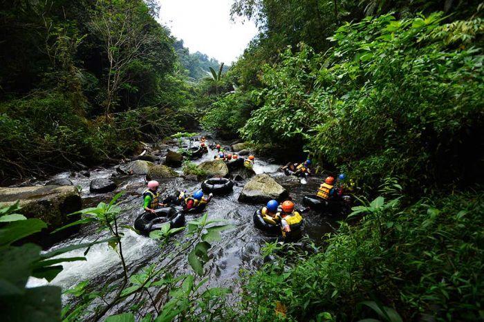 Wisata Tubing Tanakita Sukabumi