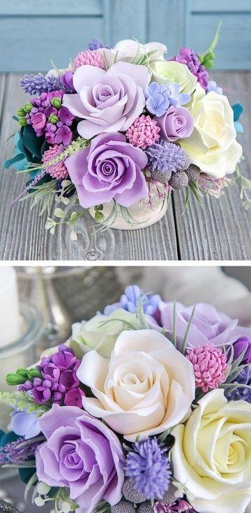 Ideas para crear bonitos centros de mesa pequeños Roses - Arreglos Florales Bonitos