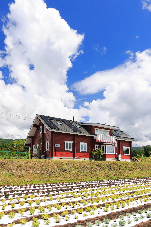 宿泊可能なゲストルームを併設した大型住宅 住宅 ゲストルーム エクステリア