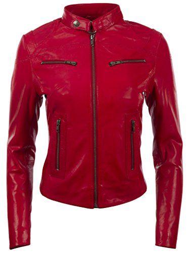 Veste rouge femme amazon