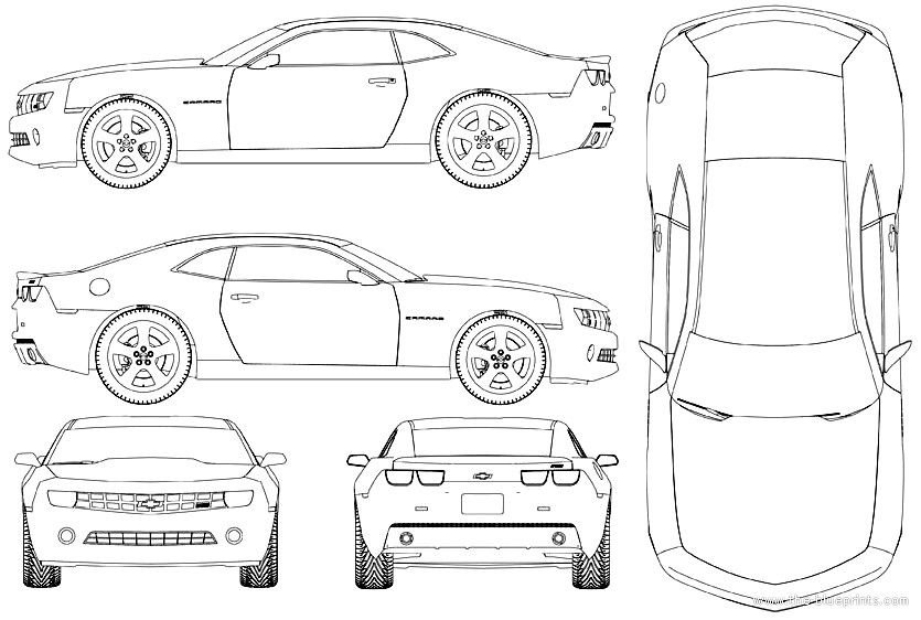 Muscle design for muscle car | car sketches | Pinterest | Planos ...