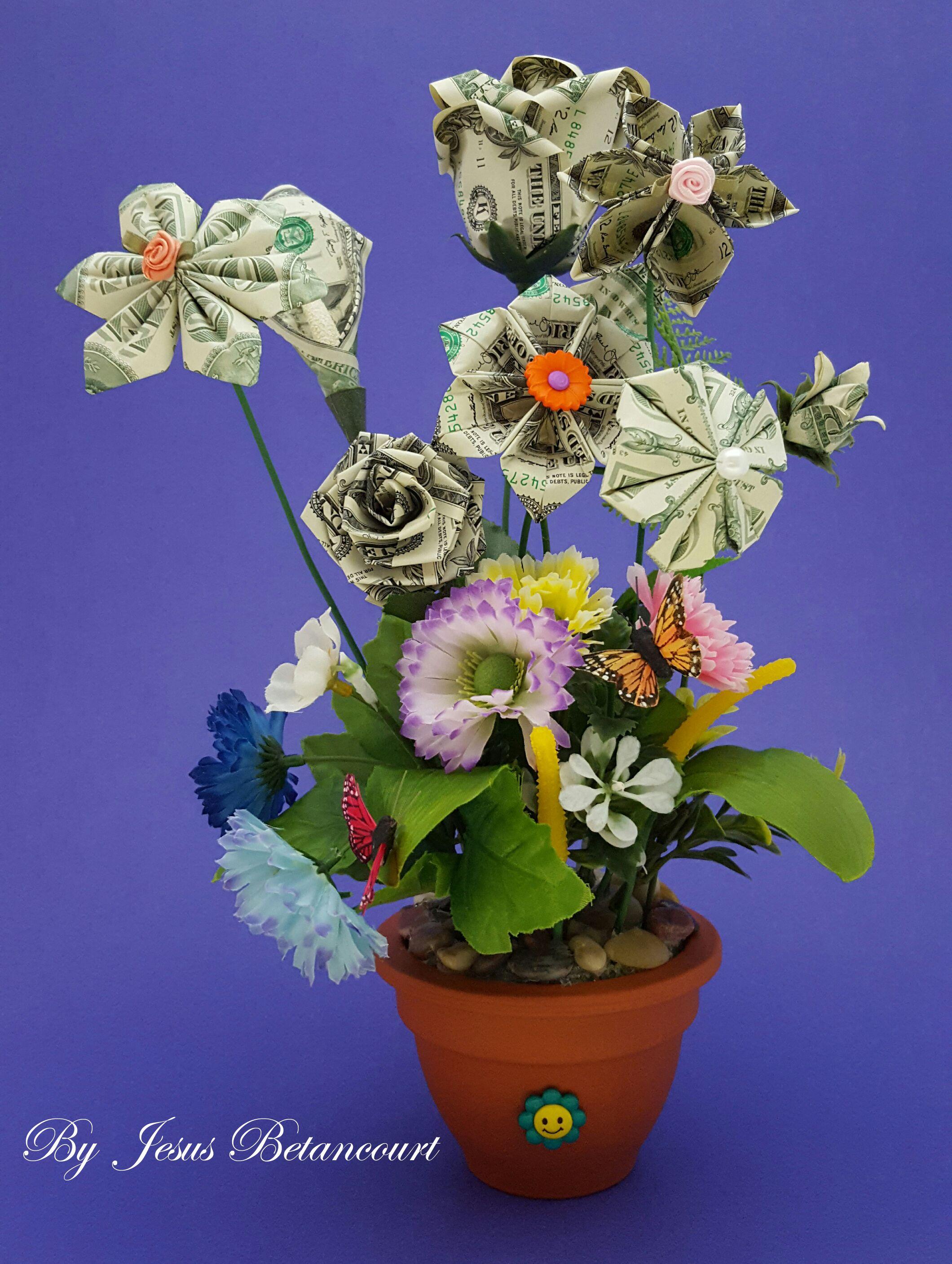 Origami money flowers dollar origami pinterest money flowers origami money flowers mightylinksfo