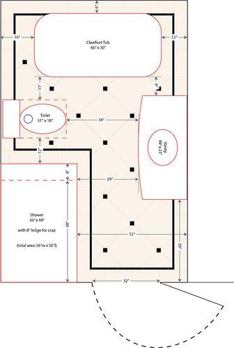 Walk In Showers Without Doors Walk In Shower Plan Bathroom Ideas Pinterest Doors
