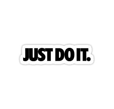 Just Do It Nike Sticker Products Tumblr Stickers