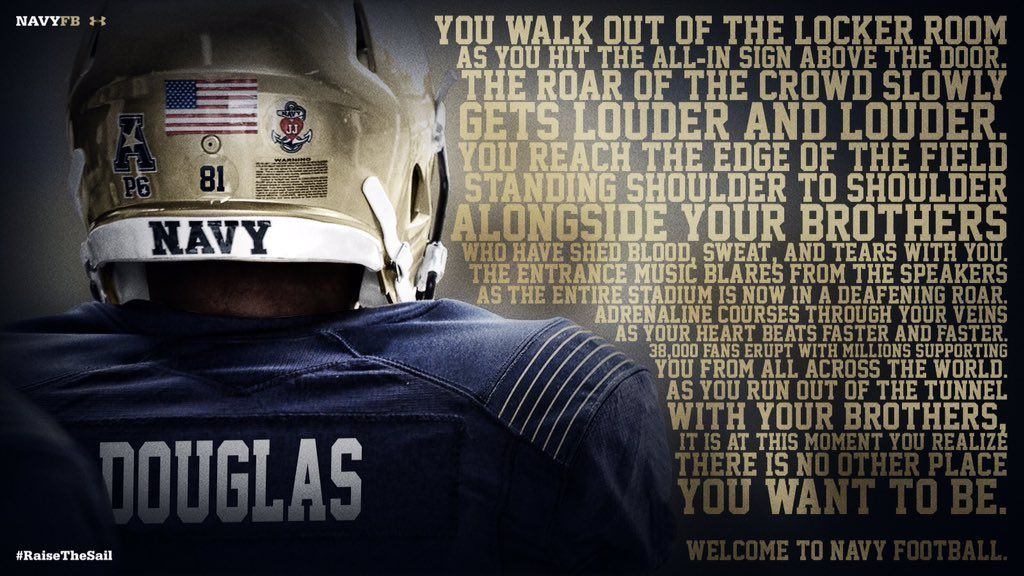 Nike Rolls Out New Army And Navy Football Uniforms Navy Football