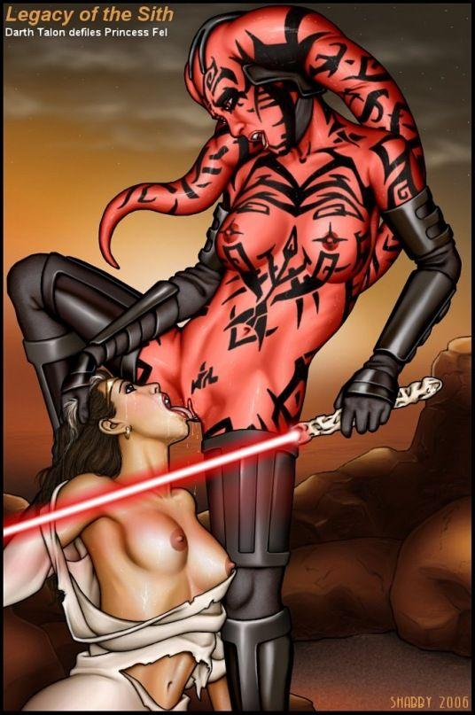 Lesbian porn star wars