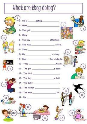 present simple present continuous exercises pdf pre-intermediate