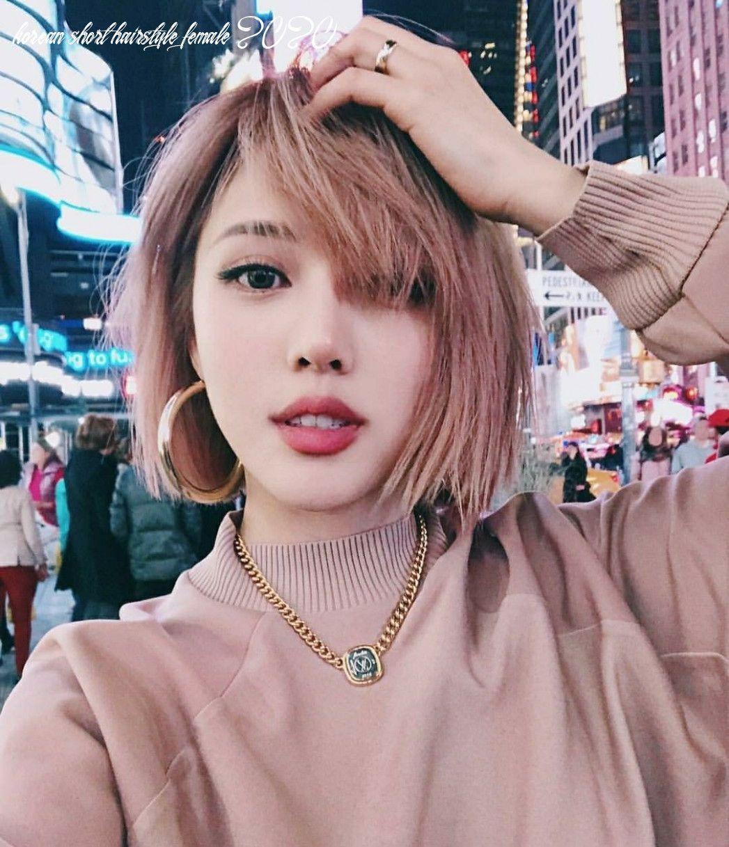 12 Korean Short Hairstyle Female 2020 Korean Hair Color Korean Short Hair Short Hair Styles