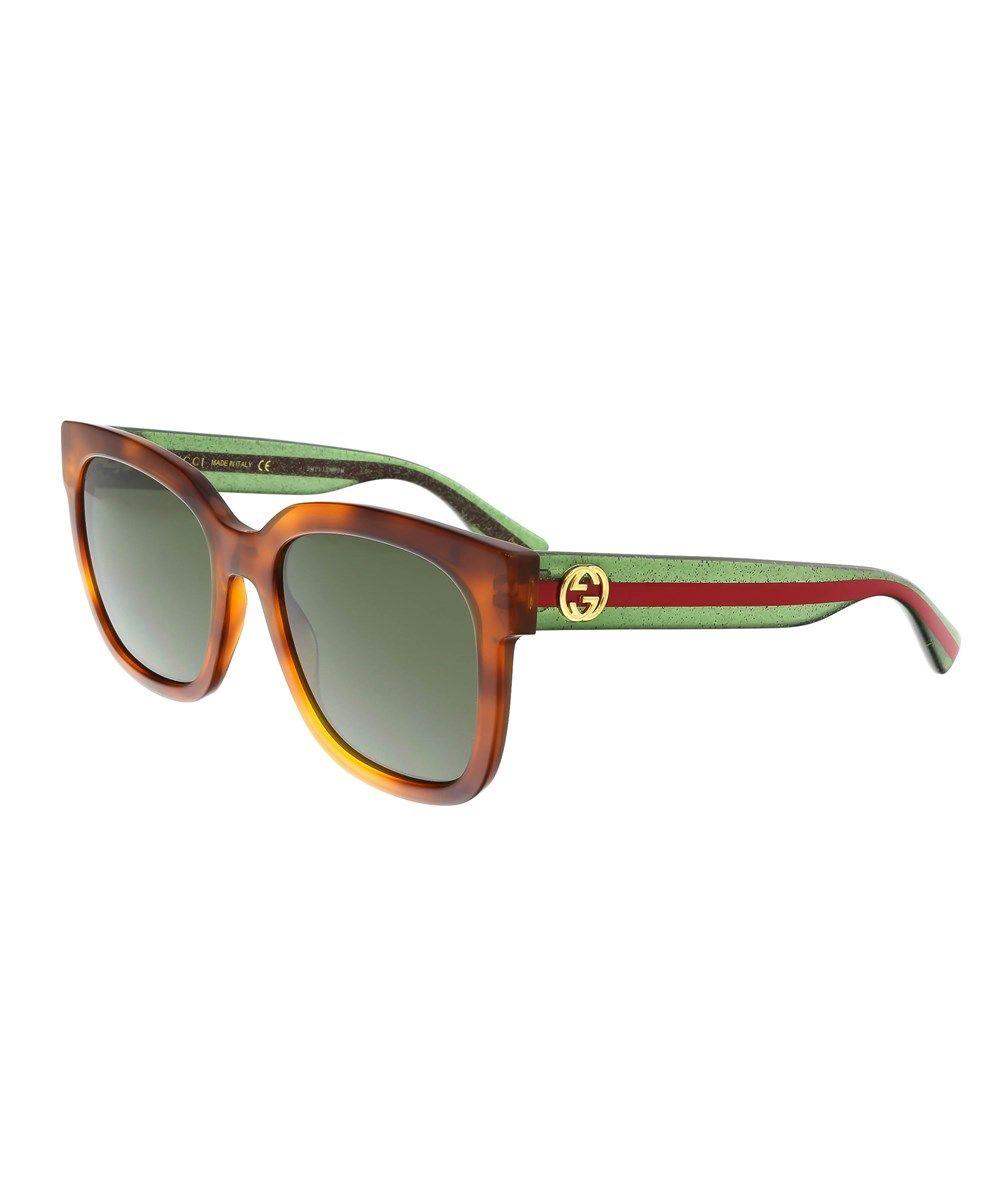 45746e501fa GUCCI Gg0034S 003 Havana Square Sunglasses .  gucci  sunglasses ...