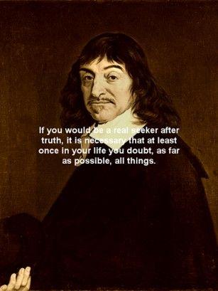 Descartes Je Pense Donc Je Suis : descartes, pense, René, Descartes,, Pense,, Suis., Think,, Therefore, 我思う、ゆえに我あり。