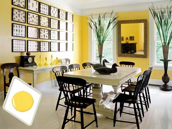 Best Colors For Dining Room Drama Yellow Dining Room Beautiful Dining Rooms Dining Room Paint Colors