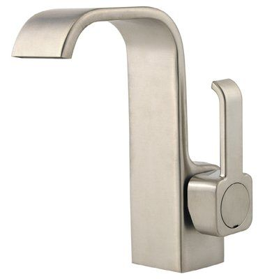 Shown In Brushed Nickel Sink Faucets Single Hole