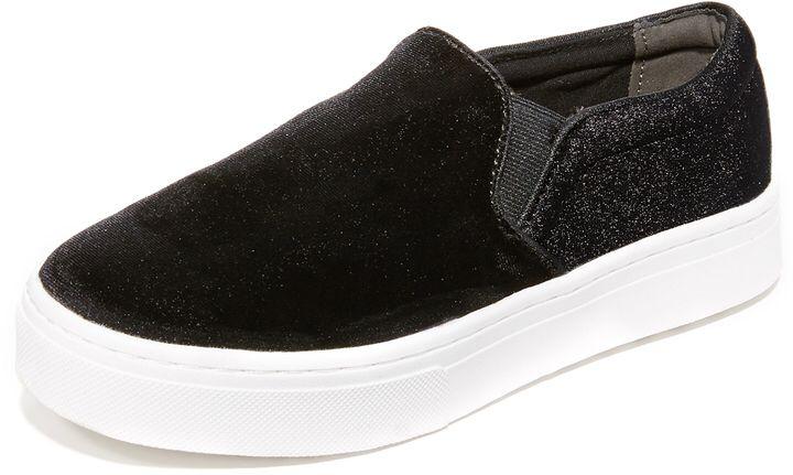 96745e42b3d0 Sam Edelman Lacey Velvet Slip On Sneakers