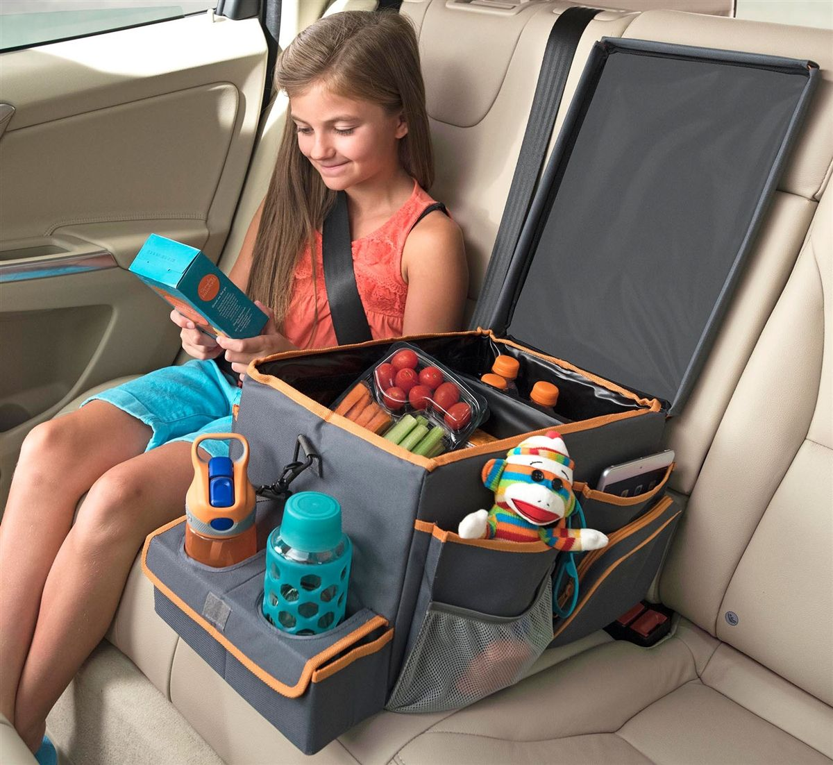 High Road Car Organizers Kids Back Seat Organizer With Cooler