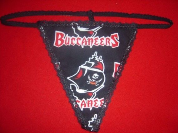 bb66370ef4d Womens TAMPA BAY BUCCANEERS GString Thong by pmtreasurechest