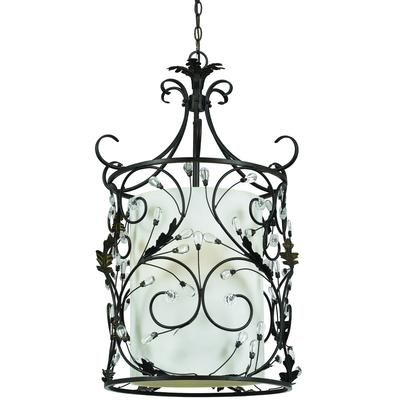 Shawson Lighting 21 12 Inches Pendant Roman Bronze Finish