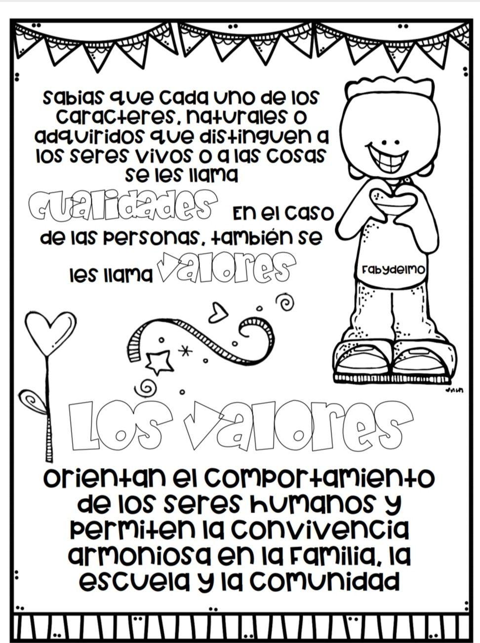 Pin De Abby En Valores Lectura De Comprensión Etiquetas Preescolares Educacion Emocional