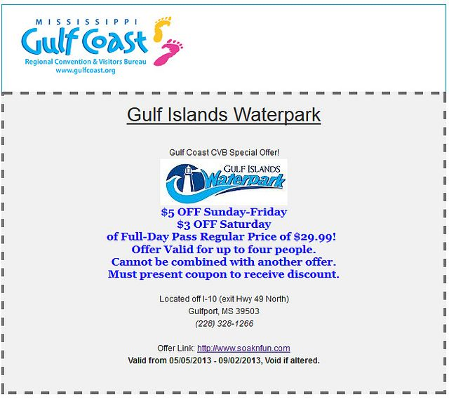 coupons for gulfport mississippi
