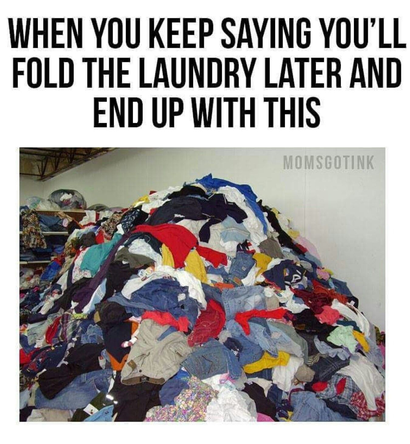 No Chin Laundry Meme