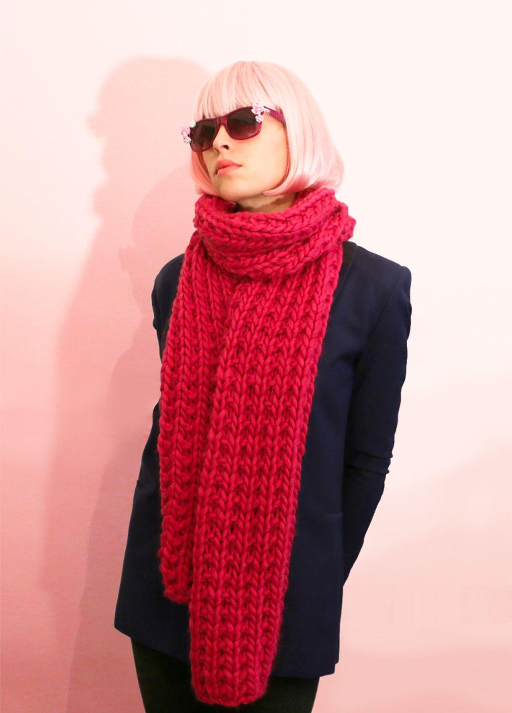 Knitting Kit Wool Praline Scarf ac16fef98d1