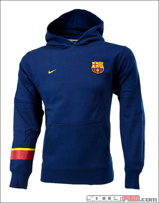 1213d5fdfc7 Nike Youth Barcelona Core Hoodie - Midnight Navy...$44.99 | Licensed ...