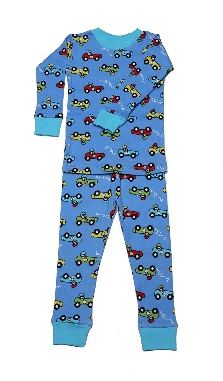 boys organic cotton racing cars pajamas by new jammies  bruce  - boys organic cotton racing cars pajamas by new jammies
