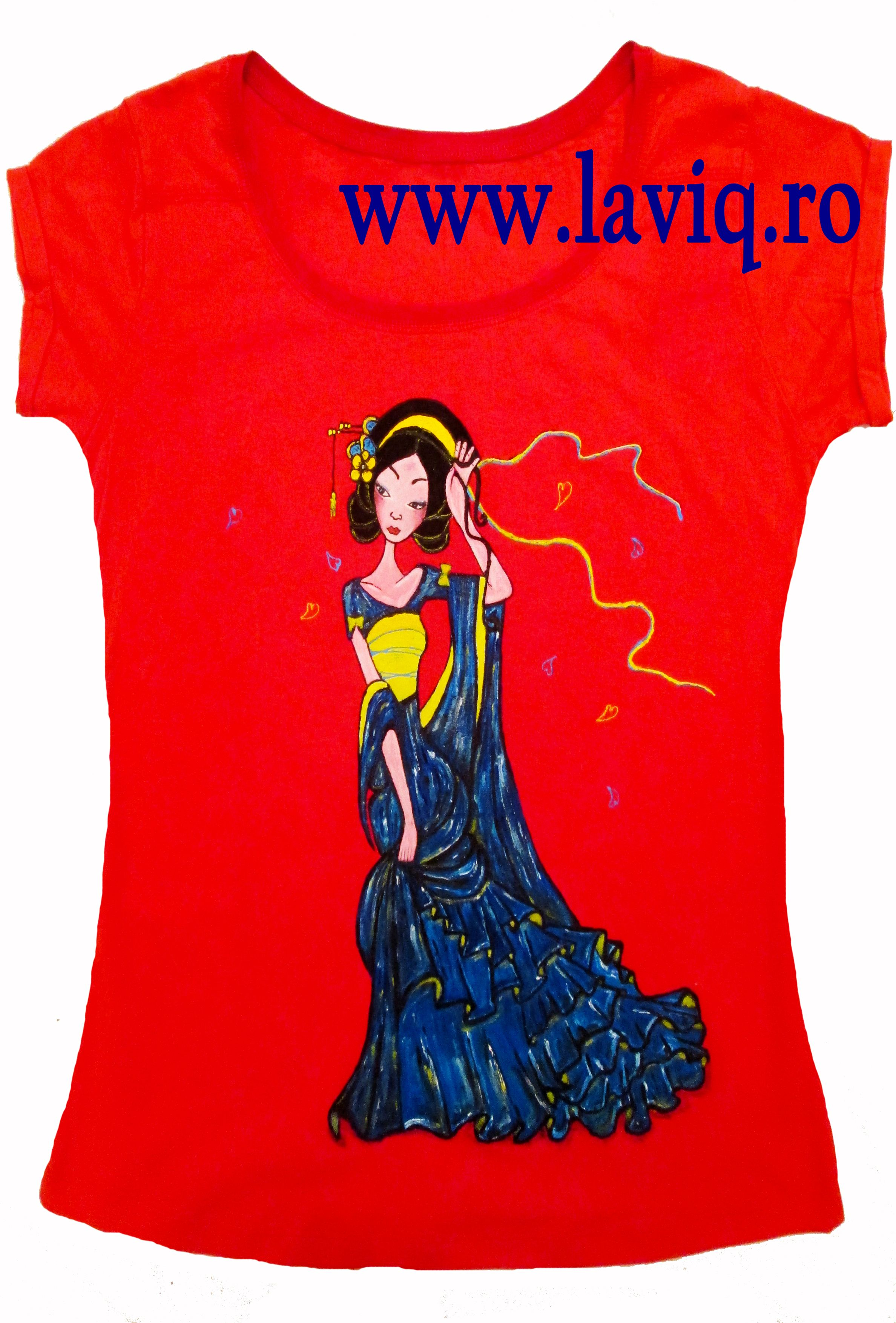 Tricou Pictat Japanese 5 Www Laviq Ro Www Facebook Com Pages Laviq 206808016028814 Women S Top Fashion Women