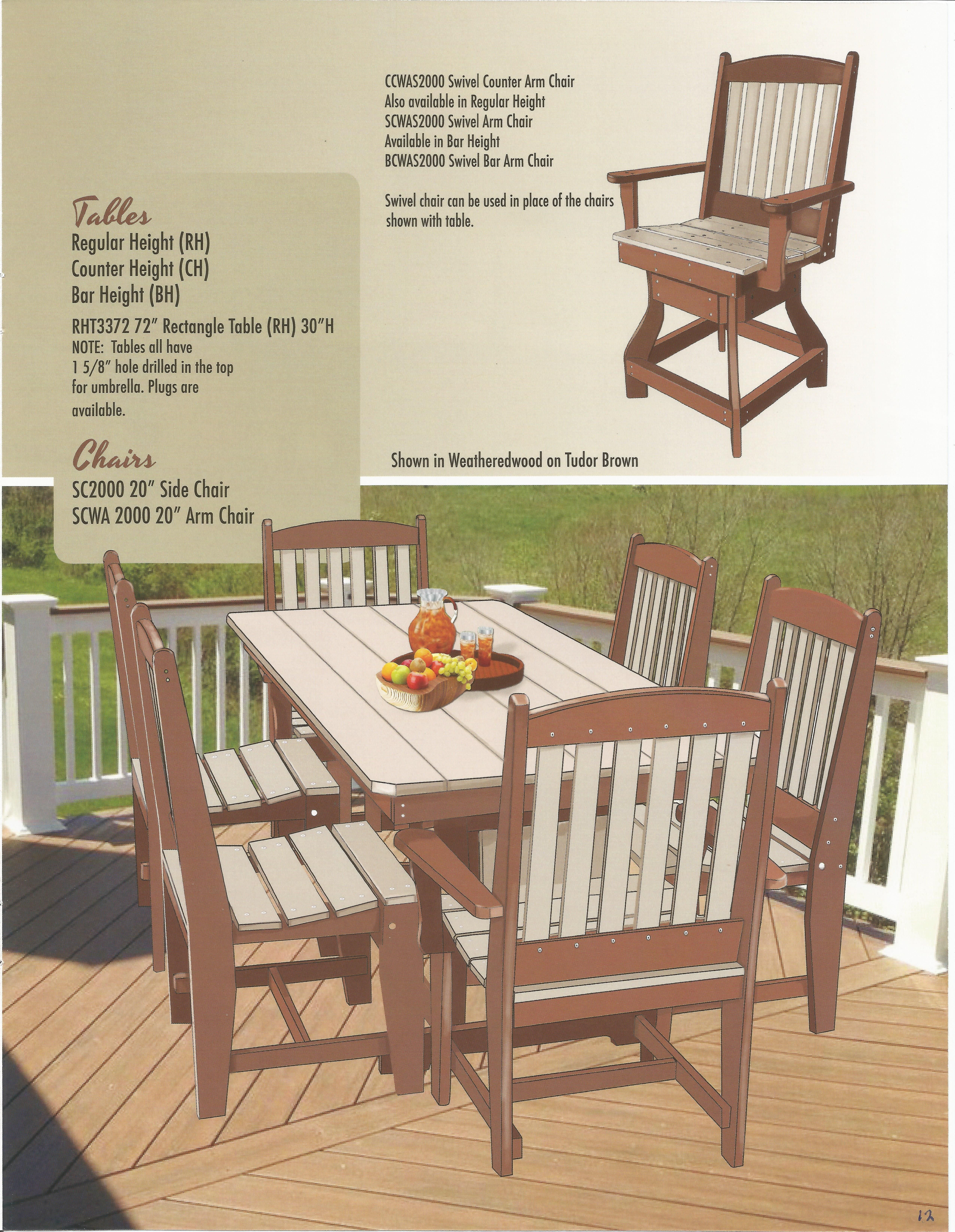 Pin By Heirloom Amish Furniture On Poly Wood Outdoor Furniture Catalog Outdoor Wood Furniture Outdoor Furniture Sets Outdoor Furniture