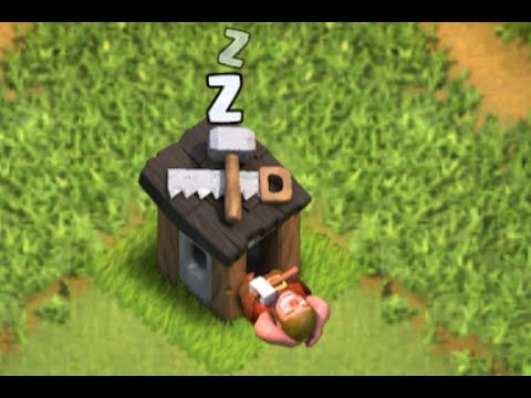 Clash of Clans - FUNNY NEW Builders Hut Glitch - YouTube