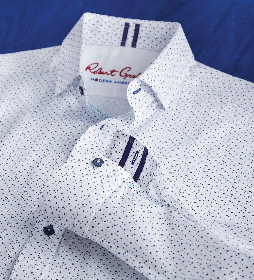Robert Graham Modern Americana Clay Long Sleeve Sport Shirt Men Shirt Style Mens Shirt Dress Mens Designer Shirts
