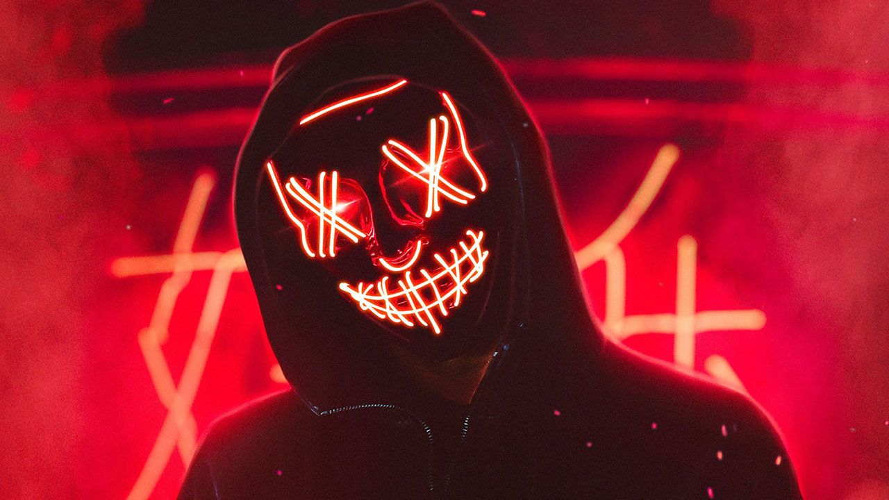 1080p V For Vendetta Mask Wallpaper