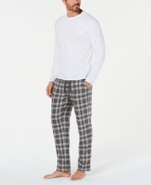 a8fc528835 Ugg Men s Steiner Plaid Pajama Set - Black L